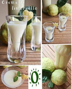 La ricetta della felicità: Crema di limoncello e sciroppo al limone