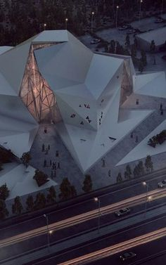 This Rock Climbing Gym Resembles A Big Rock is part of business Design Architecture - Why would your climbing gym look like anything else Architecture Pliage, Architecture Origami, Art Et Architecture, Futuristic Architecture, Amazing Architecture, Contemporary Architecture, Blender Architecture, Tectonic Architecture, Chinese Architecture
