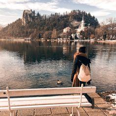 Winter trip ideas  #bled #slovenia #trip