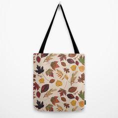 Aurora Autumn Tote Bag by MargieMark   Society6