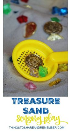 Treasure Sand Sensory Play