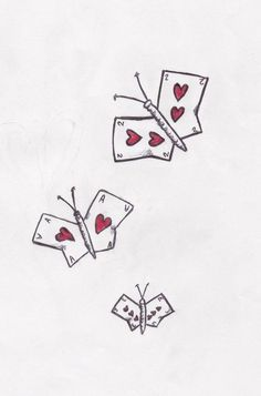 playing cards butterflies wanna get this on my foot. me and my grandmother play cards everytime we are together! love this idea! Playing Card Tattoos, Playing Cards, Club Tattoo, I Tattoo, Harley Quinn Tattoo, Cute Tats, We Are Together, More Than Words, Homestuck