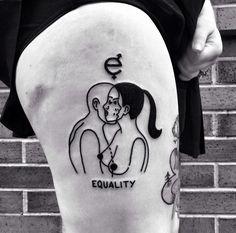 Los tatuajes son las marcas que decidimos que nos acompañen de por vida, y con suerte, las escogeremos con tanto cuidado, que las presumiremos siempre...