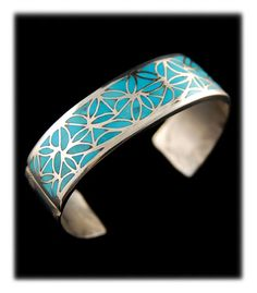 turquoise jewelry | Southwestern Inlay Turquoise Jewelry loving this!