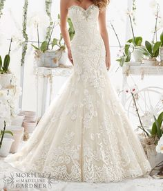 """1,075 Likes, 26 Comments - Arsine Edjhuryan (@arsine_karozabridalinc) on Instagram: """"New arrival Mori Lee 2817 Call (818)246-0656 to make an appointment to try on this gown #karoza…"""""""