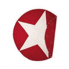 Weihnachtsdecke Stern für Christbaum Weihnachtsbaum En Gry & Sif
