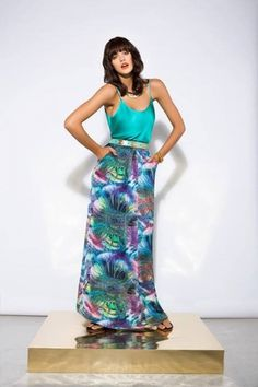 Faldas largas para fiestas verano 2014