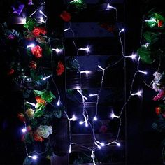 ZITRADES(TM) Mini White Battery Operated 40 LED/4M String Lights for XMAS Christmas Fairy Party Wedding Yard Camping Pocket  1.Transparent PMMA non-toxic harmless 2.Color:White 40LED strings  3.Power supply:3 AA battery (not include) 4.LED uses 75% less energy and have 4 times the life of similar incandescent string lights...