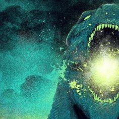 Godzilla - Patrick Connan