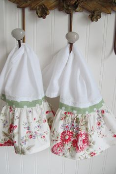 Shabby Kitchen Hand Towel Set (2)