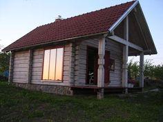 Medinių namų architektūra