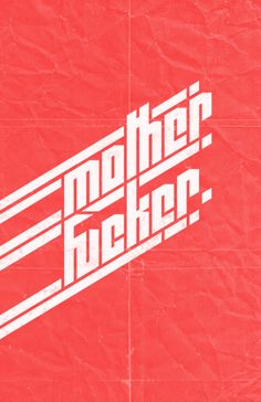 the font bring a punk/ rock and roll mood. even a german feeling. the background looks like folded paper with creases. this add to the feeling of punk rock. nice colour of red.