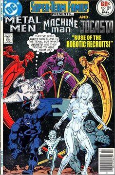#dc #dccomics #marvel #marvelcomics #superteamfamily  #comicbooks #covers #superheroes #comicwhisperer #comiccovers #metalmen #machineman #jocasta