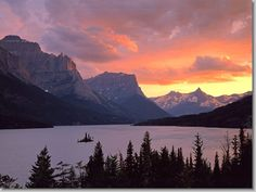 St. Mary Lake/Glacier National Park
