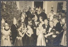 Vintage new Years eve party