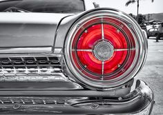 1963 Ford Galaxie Tail Light Detail Beautiful Classic Car Detail