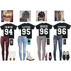 5sos polyvore outfits | 5SOS outfits I want all of these | I am a Converse kind of girl