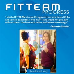 Changes happening everyday! #fitteamfit#weightloss#energy#eatrealfood www.fitteam.com/kted