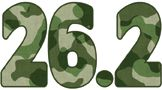 26.2 Camo Temporary Tattoo