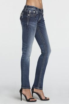 Right On Time Mid-Rise Skinny Jeans - Miss Me