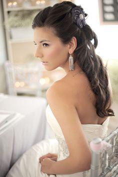 nice Bride Hair