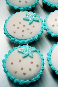 Ocean Cupcakes, via Flickr.