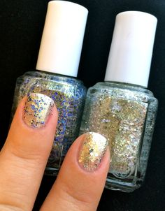 Essie 'On A Silver Platter' and 'Hors D'Oeuvres'