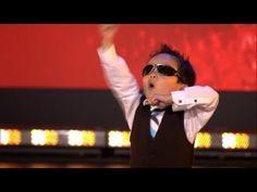 Vierjarige Tristan danst Gangnam style in Belgium's Got Talent  Published on Oct 8, 2013 Vanaf 11 oktober is Belgium's Got Talent er weer elke vrijdagavond bij VTM! Bekijk hier hoe de 4-jarige Tristan de jury én het publiek totaal verrast.