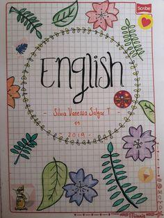 Sweet Drawings, Girly Drawings, Easy Drawings, School Notebooks, Cute Notebooks, Bullet Journal Writing, Bullet Journal School, Notebook Art, Notebook Covers