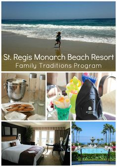 Luxury family holidays: Family Traditions Program at St. Regis Monarch Beach includes a suite, kids amenities, an outdoor adventure (whale watching or wildlife tour) and... a butler!