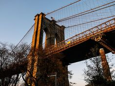 Yes, it's always packed with tourists. And, yes, you'll see more selfie sticks than you can count. But walking over the Brooklyn Bridge is a quintessential New York experience. To get good views of the Manhattan skyline, walk from the Brooklyn side over to Manhattan. The best times to go are in the early morning (to avoid the crowds) or in the evening, when you can watch the sun set over the water. MH