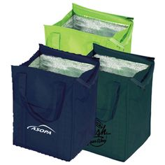 Insulated Grocery Tote / 16085   Big thermal bag - perfect for grocery shopping!  As low as: $2.48