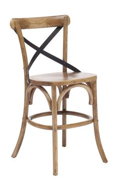 Zuo Modern Union Square Counter Chair in Natural