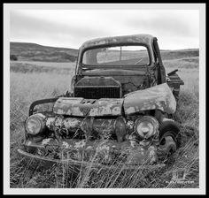 Old Car, taken at Hafþórsstaðir in Norðurárdalur Iceland