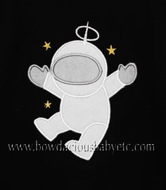Personalized Astronaut Custom Appliqued Shirt, Choose Your Own Fabric, Monogrammed,  Boys Birthday Shirt,Black,White,Long Sleeves,Short Sleeves,Tank,Onesie,Romper,Sizes 3 months up to 12 years,Gift