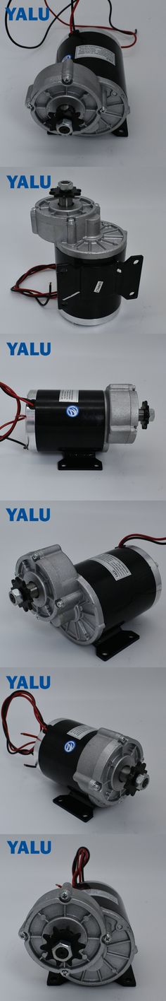 brush motor with sprocket for kids toy car MY1020Z 600W  48V Permanent Magnet DC Motor