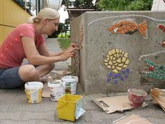 Mosaik kleben – VIEL einfacher, als ich dachte