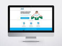 Strona internetowa / paralax. #reklama #marketing #strona #internet