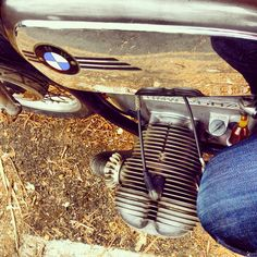 Cafe break #caferacer #aircooled #bmwr60/5