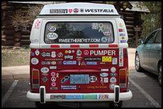 "VW Kombi ""2HIPPIES"" at the Bryce Canyon National Park by rickz, via Flickr"