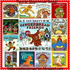 Little Miss Kindergarten - Lessons from the Little Red Schoolhouse!: Gingerbread Freebie and Our Favorite Books!