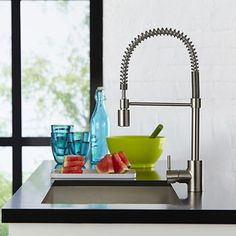 Hansgrohe Metro Higharc Kitchen Faucet With 2Function Pulldown Delectable Costco Kitchen Faucet Decorating Design