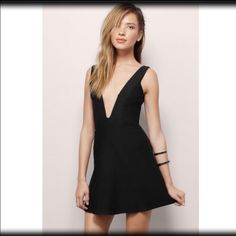 All For V Skater Dress Brand new with tags and never used! No trades. Tobi Dresses Mini