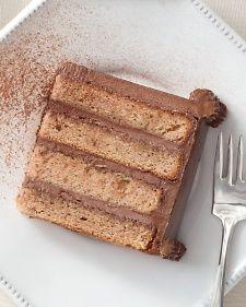 Zesty Mexican Hot Chocolate Cake - Alcohol-free - Martha Stewart Weddings