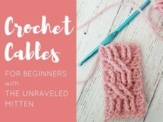 This tutorial will have you making crochet cables like a pro in no time! I start with my top tips for crochet cable success and then I will guide you in learning how to make a basic rope cable stitch with a stitch by stitch photot tutorial.