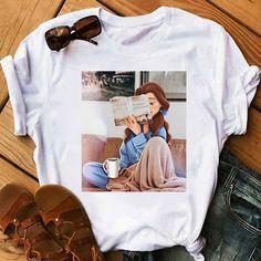 Shirt Blouses, Tee Shirts, Chanel Shirt, Ulzzang, Harajuku, Hoodie Outfit, Design Moderne, T Shirt Diy, Direct To Garment Printer