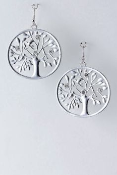 Metal Tree Earrings - I really really love these!!!!!!!