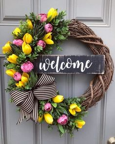 101 Charming DIY Spring Home Decoration That Trend In 2020 - March is the first day of spring. It may be hard to imagine that spring is actually only a few weeks away if you are still cranking up the heat i. Diy Spring Wreath, Spring Door Wreaths, Easter Wreaths, Holiday Wreaths, Mesh Wreaths, Yarn Wreaths, Floral Wreaths, Burlap Wreaths, Wreath Crafts