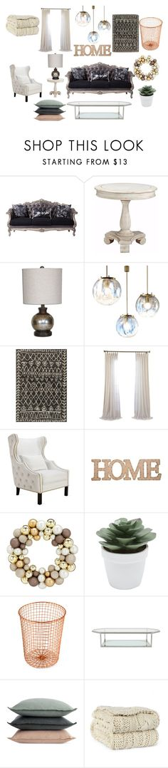 """""""Cozy Gothic Vintage Chic Living Room"""" by kdiz-pasley on Polyvore featuring interior, interiors, interior design, home, home decor, interior decorating, Zimmermann, Home Essentials, M&Co and Design Ideas"""