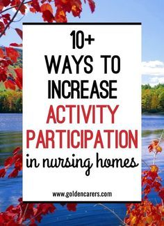 There is hardly anything more rewarding for activity coordinators than an increase in resident participation. Weeks of hard work are paid off! It is even more gratifying to see a resident who repeatedly declines to join activities walk into the recreation area for a concert, game or to participate in a trivia or discussion group. Here are a few tips that may help improve participation rates at your facility.